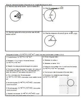 Circles Review 2010 (Editable)