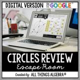 Circles Review Escape Activity: DIGITAL VERSION (for Googl