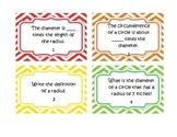 Circles Review Task Cards