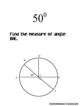 Circles Scavenger Hunt - PP
