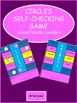 Circles Self Checking Game and Center