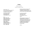 Circles Song (Lyrics Only)