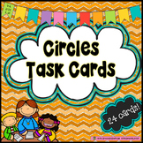Circles Task Cards- Area and Circumference