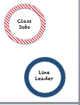 Circles Themed Class jobs