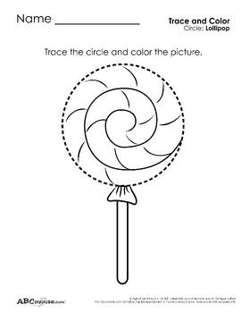 Circles: Tracing and Coloring
