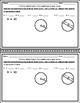 Circles Unit  Mini-Quizzes - Circumference and Area FREEBIE