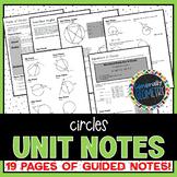 Circles Unit Notes