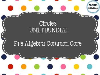 Circles Unit Plan