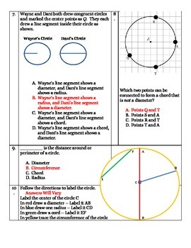 Circles Unit Test