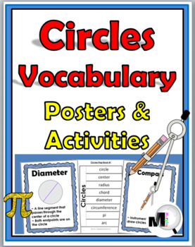 Circles Vocabulary - Posters and Activities