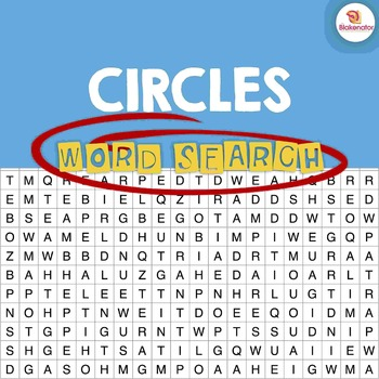 Circles Word Search Activity