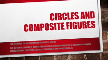 Circles and Composite Figures