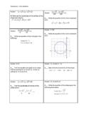 Circles and Ellipses Circuit Training