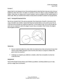 Circles and Similarity
