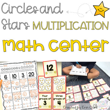Circles and Stars {A Multiplication Math Center}