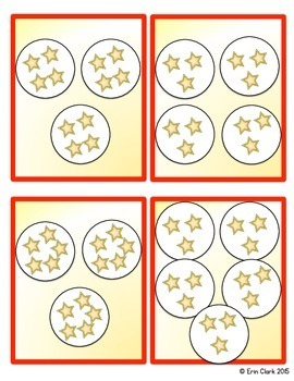 Circles and Stars Beginning Multiplication Math Center