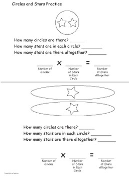 Circles and Stars - Multiplication Made Easy!