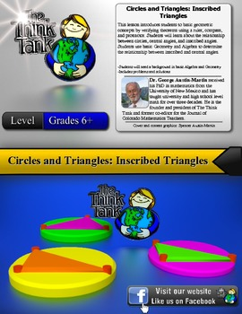 Circles and Triangles: Inscribed Triangles