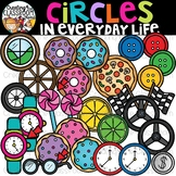 Circles in Everyday Life Clipart {Circles in real life Clipart}