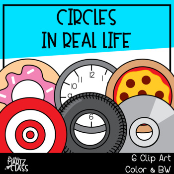 Circles in real life (2D SHAPES)