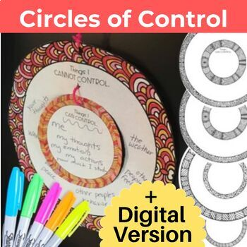 Self Control Activities with the Circle of Control