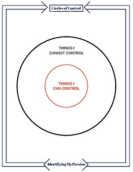 Circles of Control Worksheet