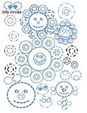 Circles, shapes, tracing, fine motor skills, worksheet, fu