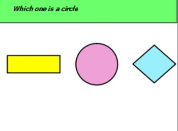 Circles vs Triangles.. a review of 2 basic shapes
