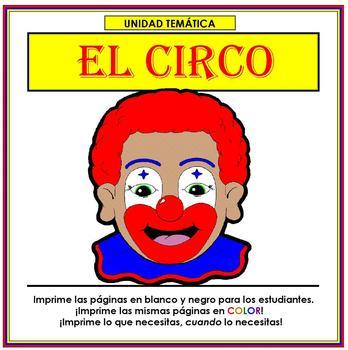 Circo - Spanish Thematic Unit