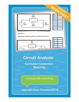 Circuit Analysis Worksheet