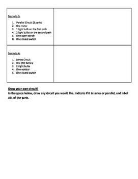 Circuit Drawings Worksheet