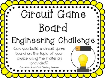 Circuit Game Board: Engineering Challenge Project ~ Great STEM Activity!