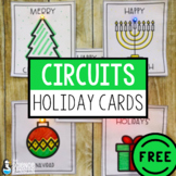 Circuit Holiday Cards | FREE Family Science | Distance Learning