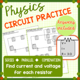 Circuit Practice - Voltage, Resistance, and Current - Ohm's Law