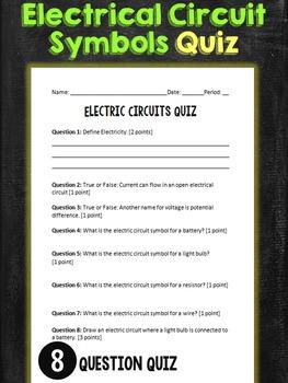 Circuit Symbol Quiz
