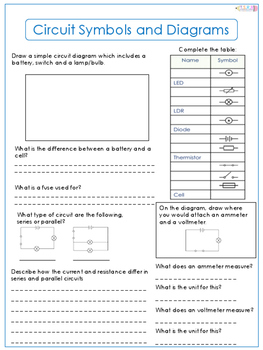 Circuit Symbols and Diagrams