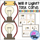Electricity - Circuit Task Cards - Will The Circuit Work?