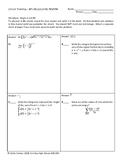 Circuit Training - AP Calculus BC Review #4