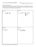 Circuit Training - AP Calculus BC Review #5