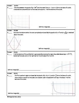 Circuit Training - Advanced Volumes (calculus)