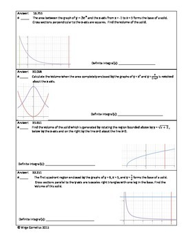 Circuit Training - Advanced Volumes (calculus)