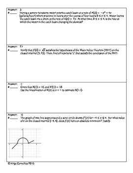 Circuit Training - Applications of the Derivative (calculus)
