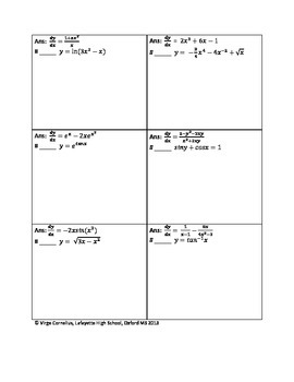 calculus practice problems with answers pdf