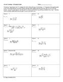Circuit Training - L'Hospital's Rule (calculus)