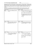 Circuit Training - Parametric and Polar Topics in Calculus