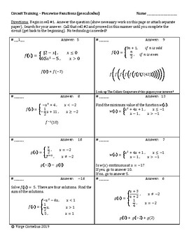 Precalculus Worksheets & Teaching Resources | Teachers Pay ...