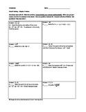 Circuit Training - Prerequisites for Precalculus