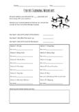 Circuit Training Worksheet