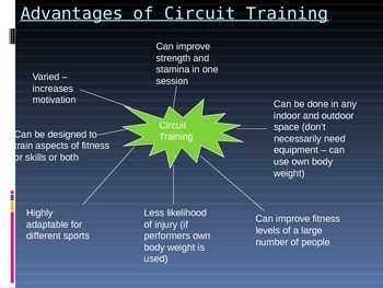 Circuit Training and Flexibility Training