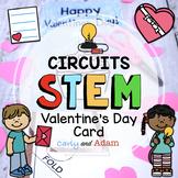 Circuit Valentine's Day Card STEM Activity